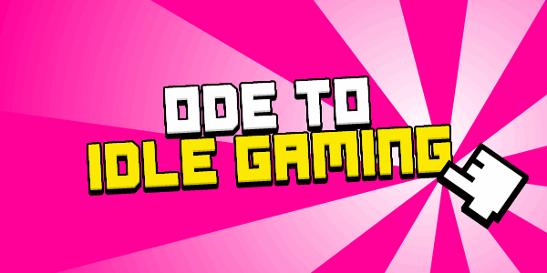 Ode to Idle Gaming font – 字体爸爸FontPapa